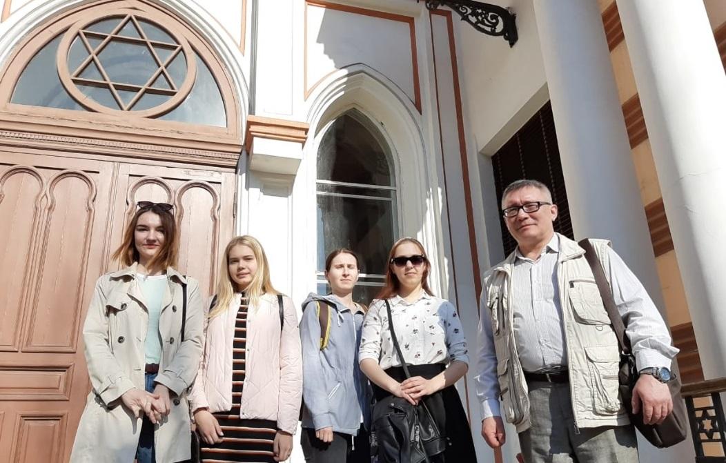 Экскурсия в Большую Хоральную Синагогу
