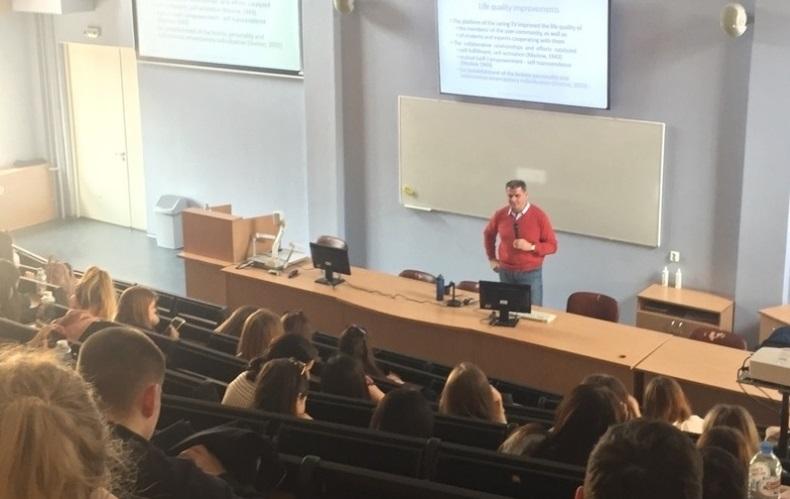 Лекция профессора из университета Венгрии