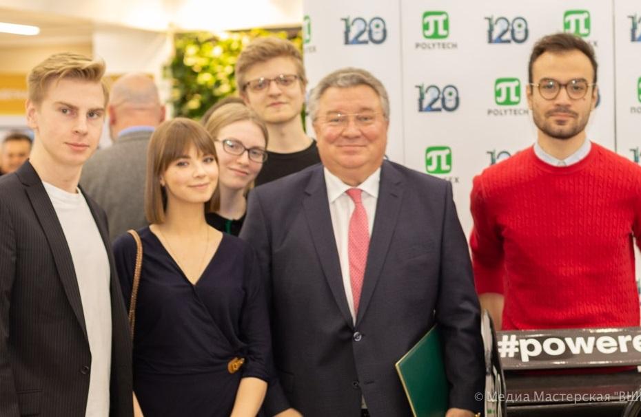 Студенты ВШМиСО в числе гостей Форума СМИ Северо-Запада